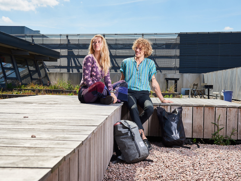 students rooftop aeres almere