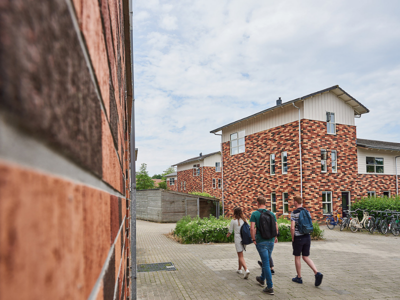 campus student housing aeres university of applied sciences dronten